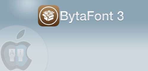 iPhone AnyFont Cydia