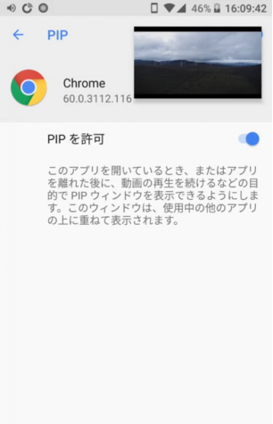 Android iOS PIP
